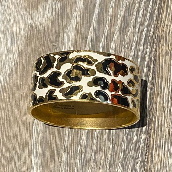 Kate Spade wideleopard bangle